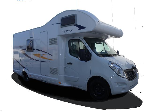 Kayak 7 Autocaravana - Egües Caravan - Alquiler de Autocaravanas en Navarra